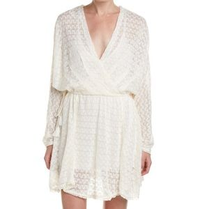 FREE PEOPLE Free People Snug Bug Faux Wrap Dress